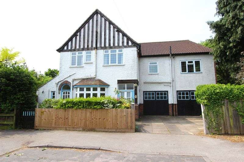 5 Bedrooms Detached House for sale in Kirloe Avenue, Leicester Forest East