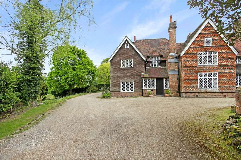 5 Bedrooms Semi Detached House for sale in Lewes Road, Scaynes Hill, Haywards Heath, West Sussex, RH17