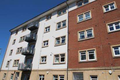 2 Bedrooms Flat for sale in Harwood Court, Campbell Street