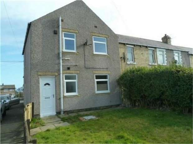 2 Bedrooms End Of Terrace House for sale in Dalton Avenue, Lynemouth, Morpeth, Northumberland