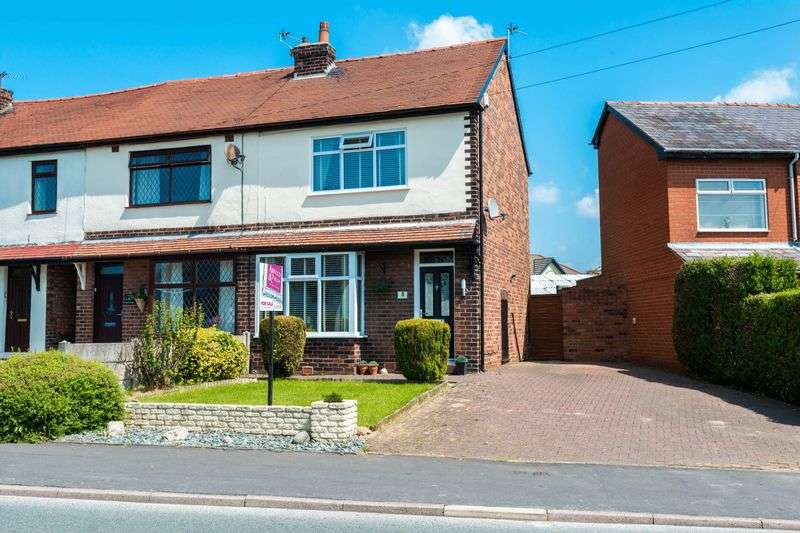 2 Bedrooms Semi Detached House for sale in Wigan Road, Shevington