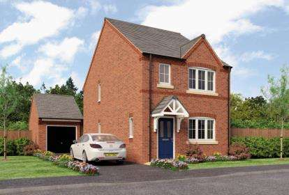 3 Bedrooms Detached House for sale in Somersgate, Longlands, Repton, Derbyshire