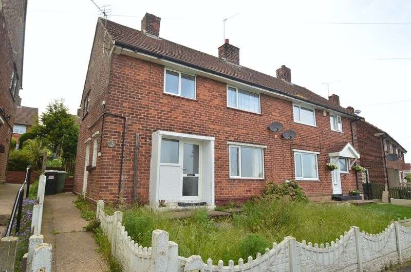 3 Bedrooms Semi Detached House for sale in Limes Crescent, Shirebrook