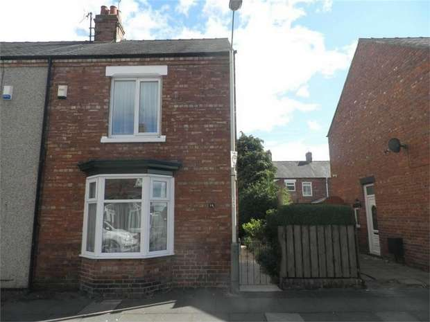 2 Bedrooms Semi Detached House for sale in Thirlmere Road, Darlington, Durham