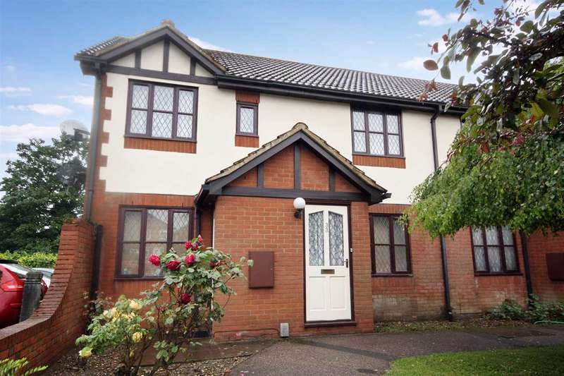2 Bedrooms Maisonette Flat for sale in Chesterfield Drive, Ipswich