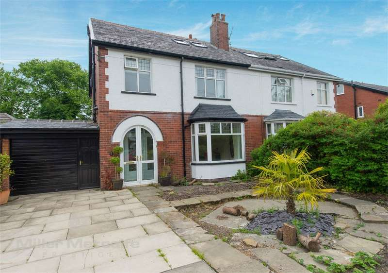 5 Bedrooms Semi Detached House for sale in Sherbourne Road, Heaton, Bolton, Lancashire