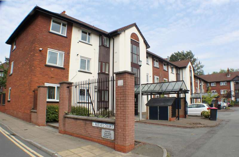 3 Bedrooms Flat for sale in Reeves Court, Canterbury Gardens, Salford