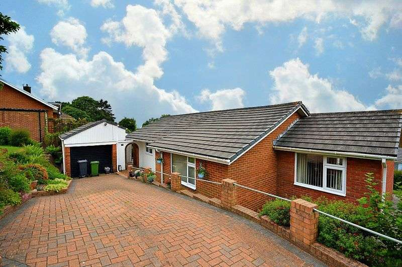 3 Bedrooms Detached Bungalow for sale in Crown Rise, Cwmbran