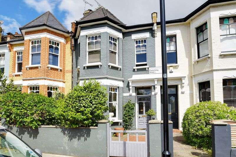 3 Bedrooms Terraced House for sale in Fletching Road, London