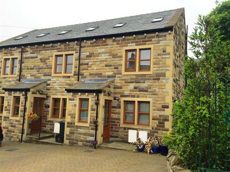 3 Bedrooms Town House for sale in North View, Holywell Green, Halifax, HX4 9AT
