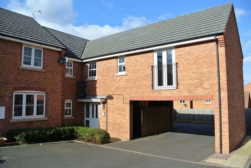 2 Bedrooms Flat for sale in Elmwood Road, Arleston, Telford, Shropshire.