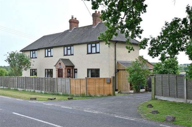 4 Bedrooms Detached House for sale in Stone Road, Bramshall, Uttoxeter, Staffordshire