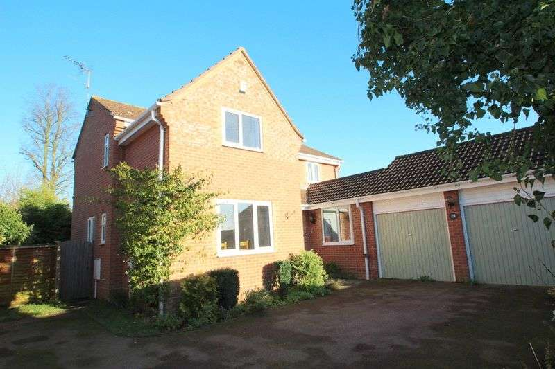 4 Bedrooms Detached House for sale in Brundall, Norwich