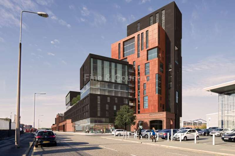 3 Bedrooms Penthouse Flat for sale in North Point, Pall Mall, Liverpool