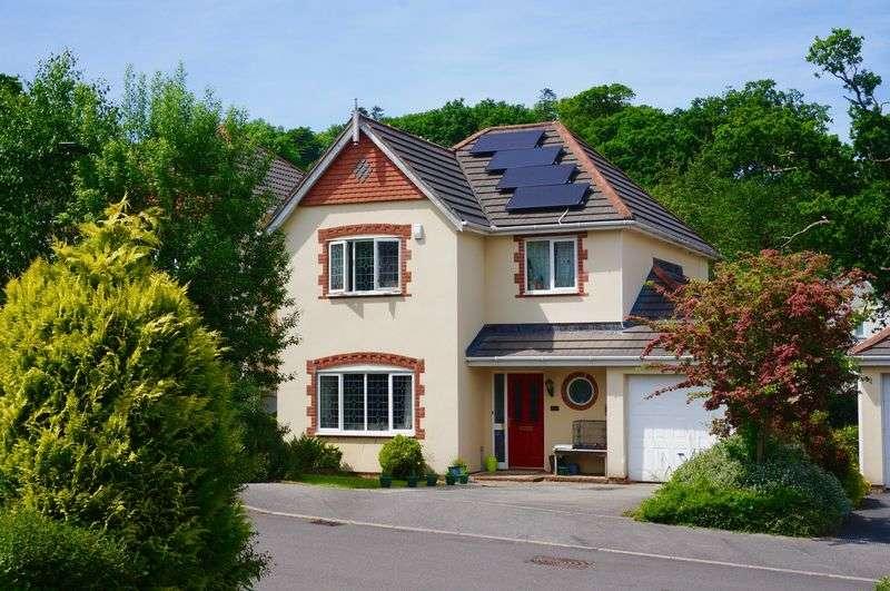 5 Bedrooms Detached House for sale in Upcott Valley, Okehampton