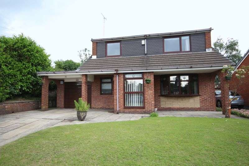 3 Bedrooms Detached House for sale in MARLAND HILL ROAD, Marland, Rochdale OL11 4PQ