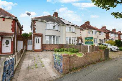 3 Bedrooms Semi Detached House for sale in Inchlaggan Road, Wolverhampton, West Midlands
