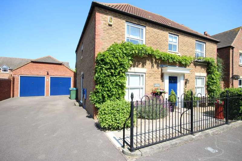 4 Bedrooms Detached House for sale in Eyre Close, Fairford Leys
