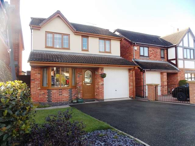 4 Bedrooms Detached House for sale in Turnberry Close, Shipley View, Ilkeston, Derbyshire