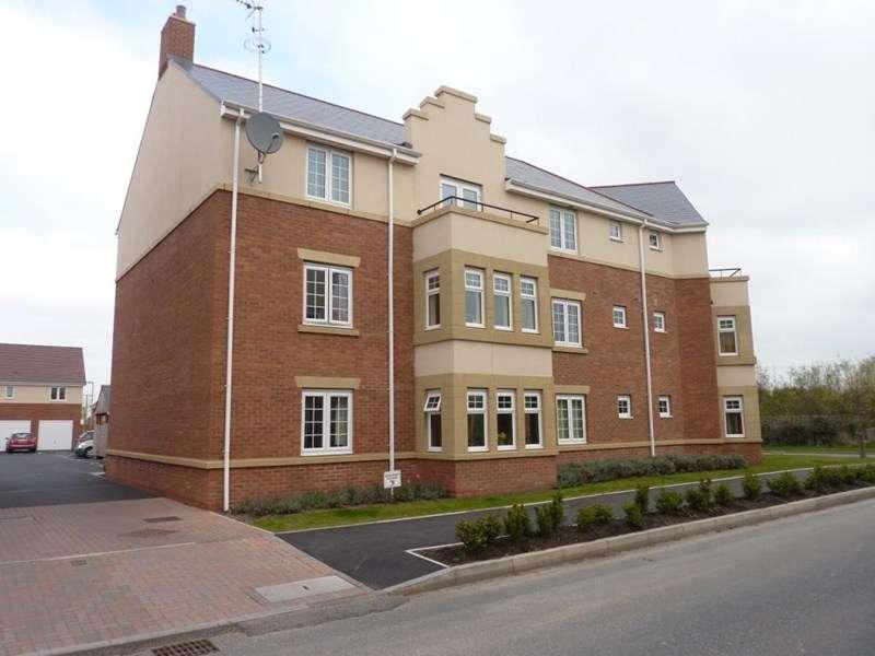 2 Bedrooms Flat for sale in Highlander Drive , Donnington