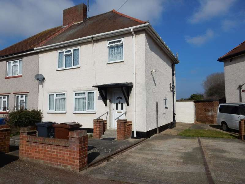 4 Bedrooms Semi Detached House for sale in Bell Farm Avenue, Dagenham, Essex, RM10 7BB