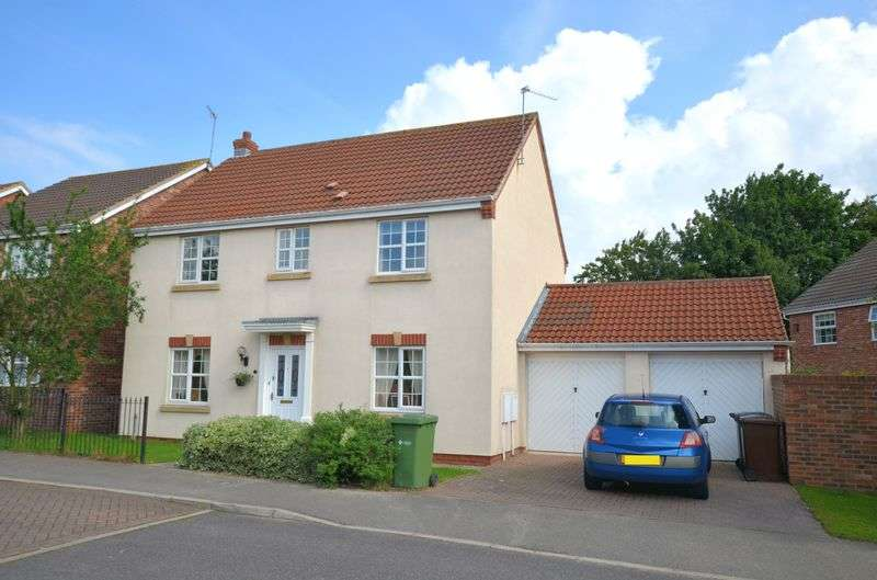 4 Bedrooms Detached House for sale in Mitchell Drive, St George's, Lincoln