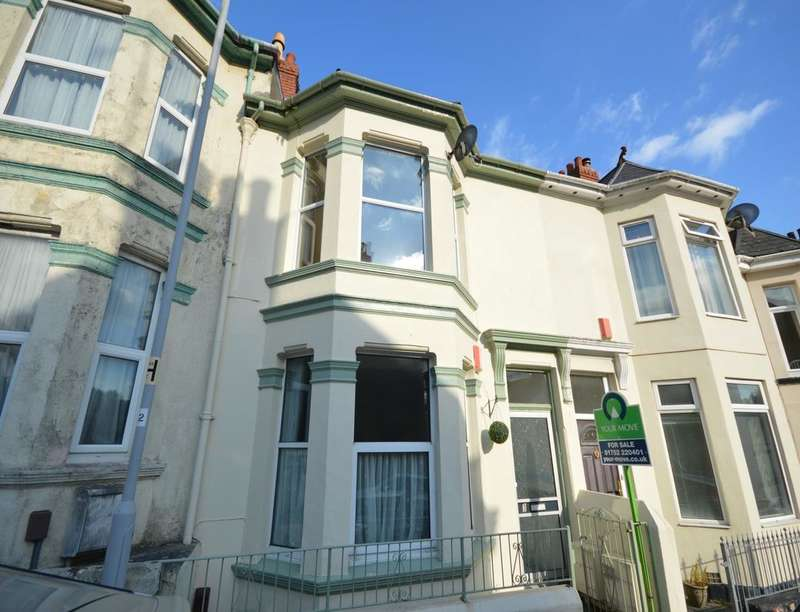 1 Bedroom Flat for sale in Victoria Avenue, Plymouth, PL1