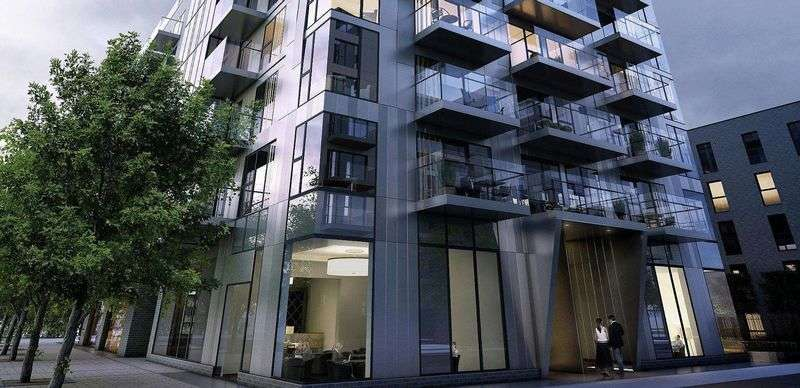 2 Bedrooms Flat for sale in Woodberry Grove, London