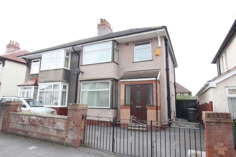 3 Bedrooms Semi Detached House for sale in Ben Nevis Road, Tranmere, Wirral