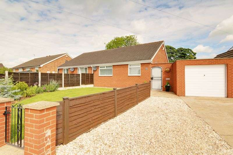 2 Bedrooms Semi Detached Bungalow for sale in Walnut Drive, Scawby