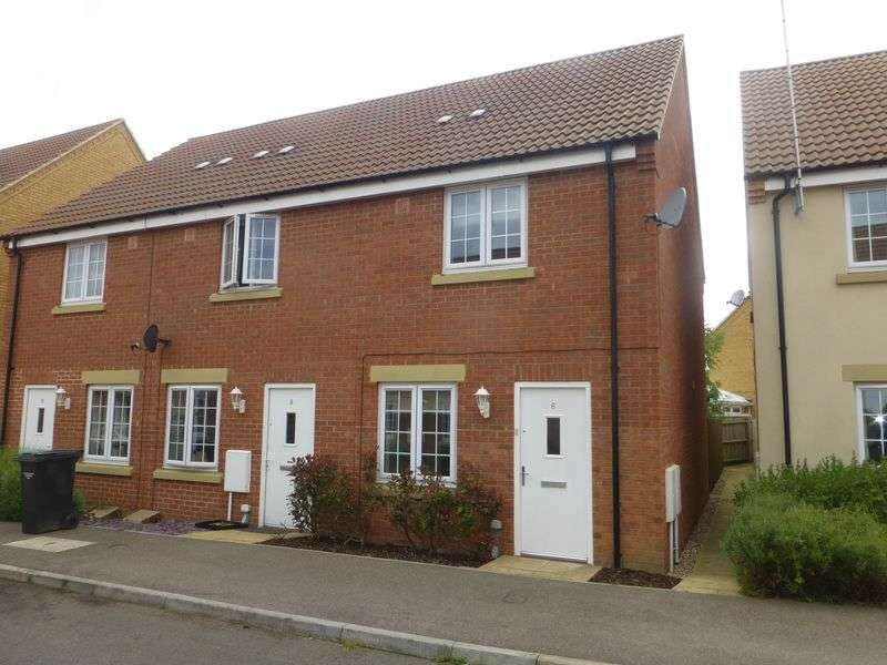 2 Bedrooms Semi Detached House for sale in The Sidings, Cranwell Village