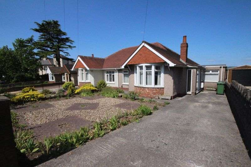 3 Bedrooms Semi Detached Bungalow for sale in Newport Road, Rumney