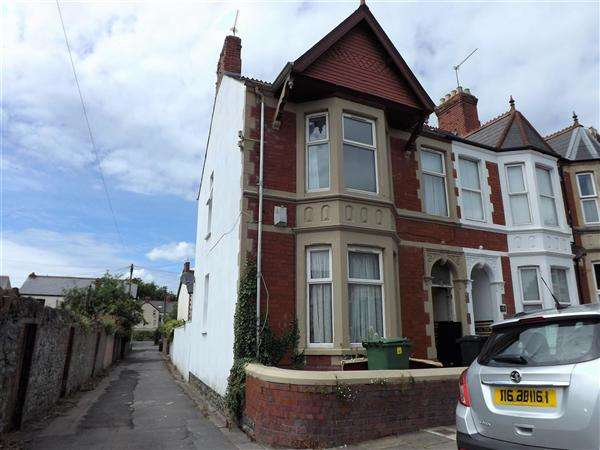 4 Bedrooms End Of Terrace House for sale in Mafeking Road, Cardiff