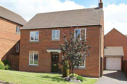 4 Bedrooms Detached House for sale in St. Chads Way, Chesterfield, Derbyshire
