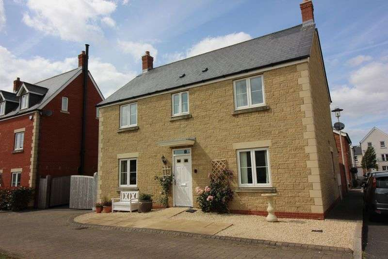 4 Bedrooms Detached House for sale in Dunlin Drive, Portishead