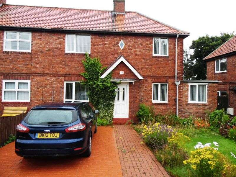 3 Bedrooms Semi Detached House for sale in Well Bank Road, Washington
