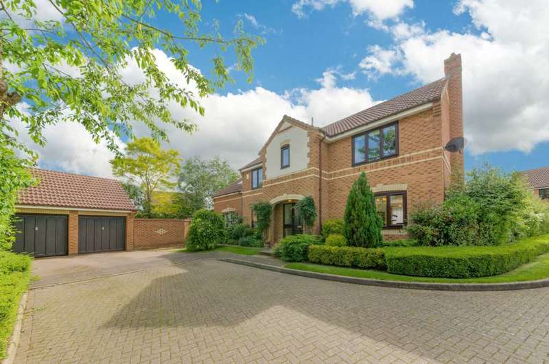5 Bedrooms Detached House for sale in Novello Croft, Old Farm Park