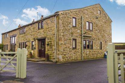 4 Bedrooms Barn Conversion Character Property for sale in Halifax Road, Lane Bottom, Burnley, Lancashire