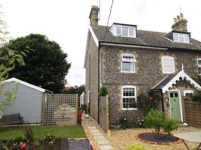 3 Bedrooms Semi Detached House for sale in Nr. Leiston, Suffolk