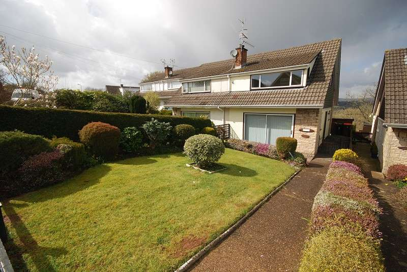 3 Bedrooms Semi Detached House for sale in Northfield Close, Caerleon, Newport, South Wales. NP18 3EZ