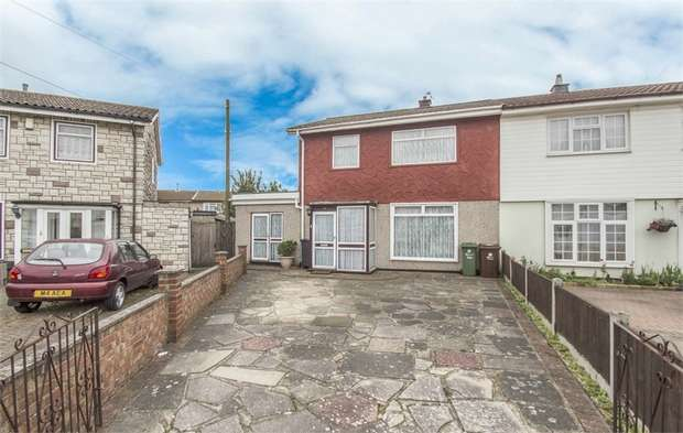3 Bedrooms Semi Detached House for sale in Trinidad Gardens, DAGENHAM, Essex
