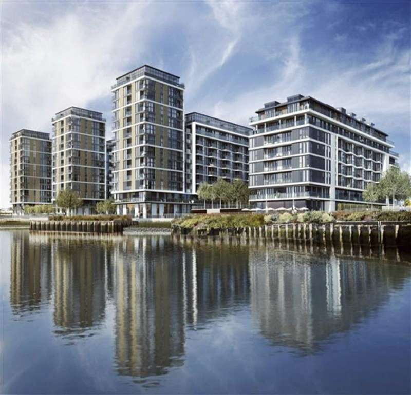 1 Bedroom Property for sale in Royal River Gardens, Greenwich, London, SE10