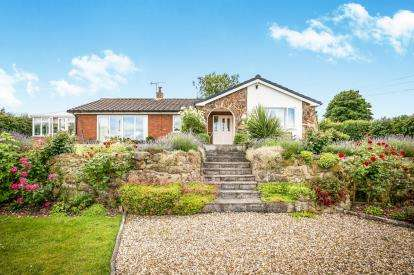 3 Bedrooms Bungalow for sale in Little Mountain, Summerhill, Wrexham, Wrecsam, LL11