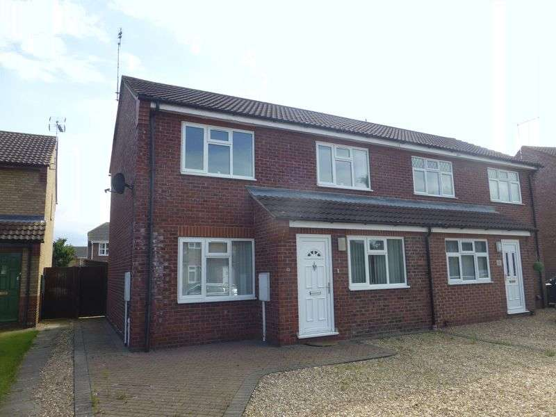 3 Bedrooms Semi Detached House for sale in Cypress Close, Sleaford