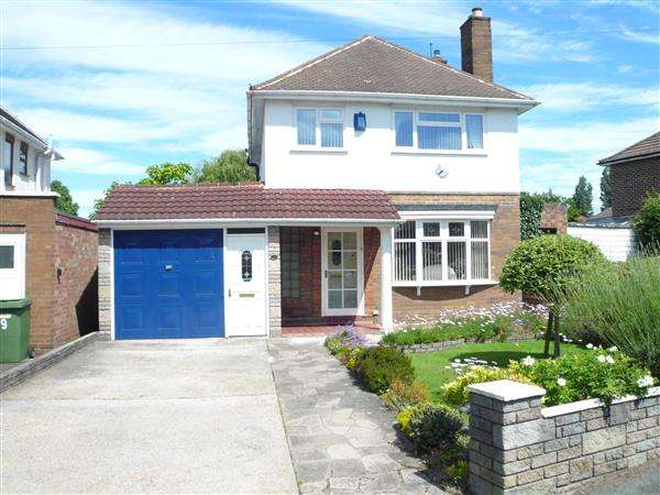 3 Bedrooms Detached House for sale in Wimborne Road, Fallings Park, Wednesfield