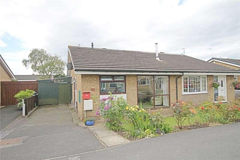2 Bedrooms Semi Detached Bungalow for sale in Grendon Gardens, Middleton St George, Darlington, DL2