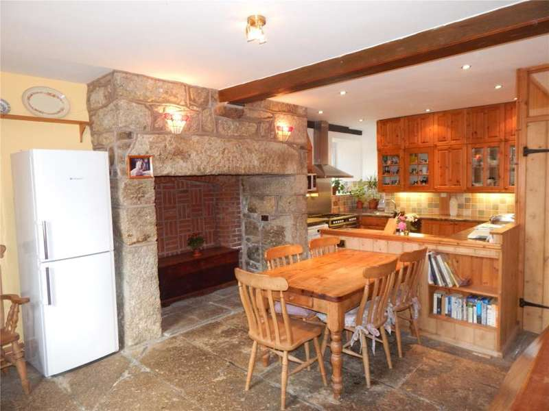 4 Bedrooms Semi Detached House for sale in Lower Treave Farm, Crows An Wra, Nr. Sennen