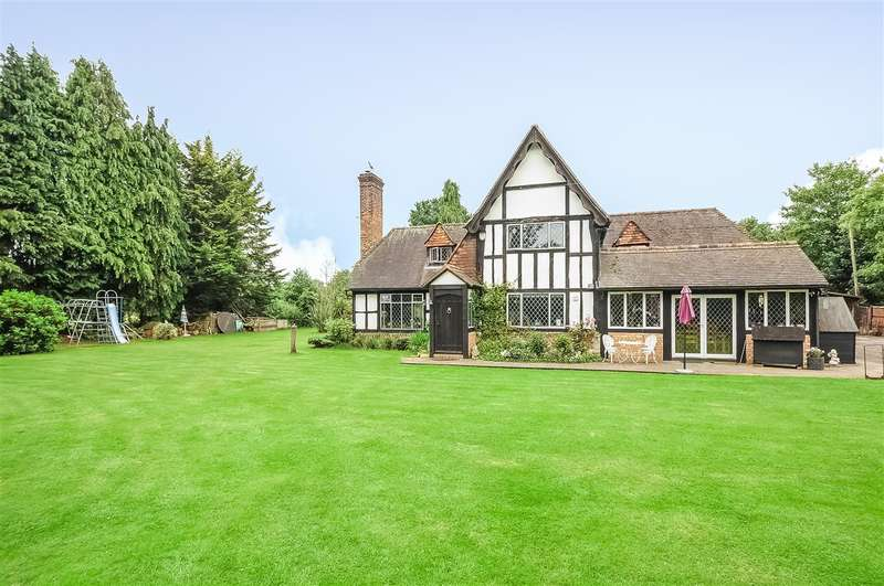 4 Bedrooms Detached House for sale in Egham/Thorpe Green
