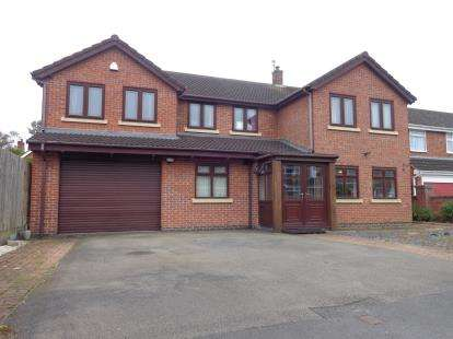 6 Bedrooms Detached House for sale in Northfields, Syston, Leicester, Leicestershire