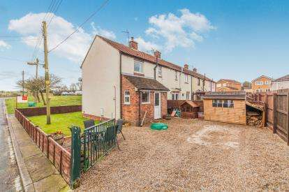 2 Bedrooms End Of Terrace House for sale in Hawthorn Avenue, Scotton, Catterick Garrison, North Yorkshire